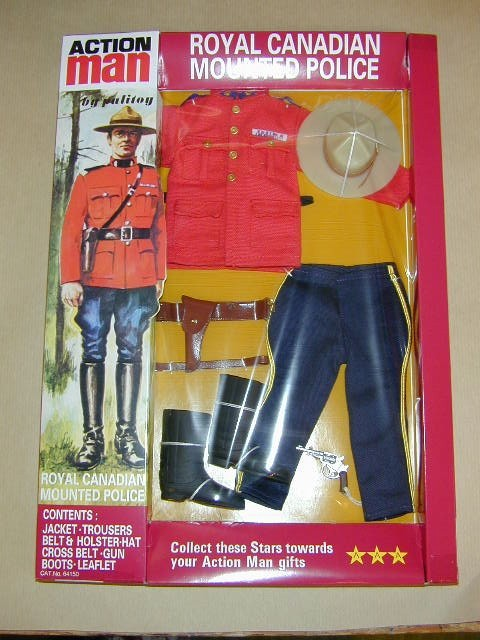 Action Man Royal Canadian Mounted Police Box