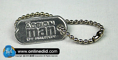 ACTION MAN - Repro Dogtag